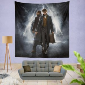 Fantastic Beasts The Crimes of Grindelwald Wall Hanging Tapestry