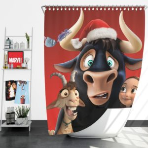 Ferdinand the Bull Movie Shower Curtain