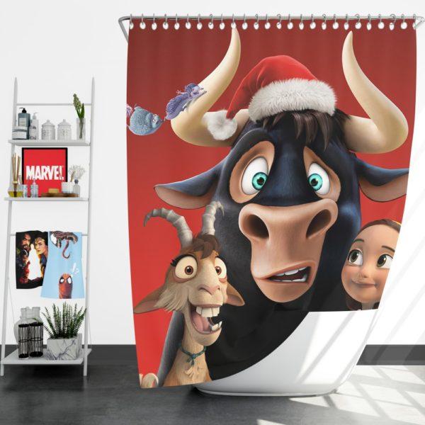 Ferdinand the Bull Movie Shower Curtain