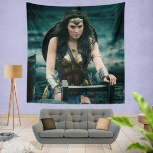 Gal Gadot Wonder Woman Wall Hanging Tapestry