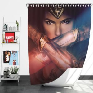Gal Gadot Wonder Women Shower Curtain