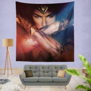 Gal Gadot Wonder Women Wall Hanging Tapestry