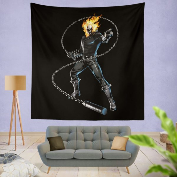 Ghost Rider Comics Wall Hanging Tapestry