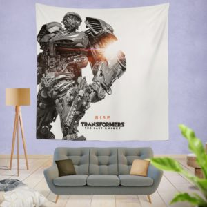 Hot Rod Transformers The Last Knight Wall Hanging Tapestry