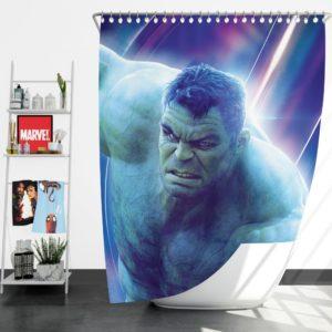Hulk Avengers Infinity War Mark Ruffalo Bruce Banner Shower Curtain