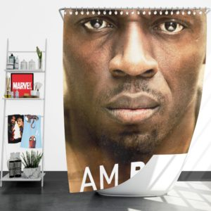 I am Bolt Movie Usain Bolt Shower Curtain