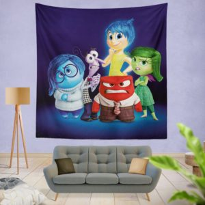 Inside Out Pixar Animation Movie Wall Hanging Tapestry
