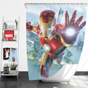Iron Man Experience Hong Kong Disneyland Shower Curtain