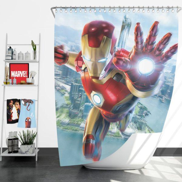 Iron Man Experience Hong Kong Disneyland Shower Curtain