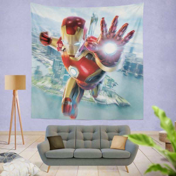 Iron Man Experience Hong Kong Disneyland Wall Hanging Tapestry