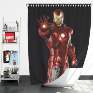 Iron Man Marvel Comics Superheroes Shower Curtain