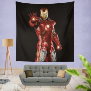 Iron Man Marvel Comics Superheroes Wall Hanging Tapestry