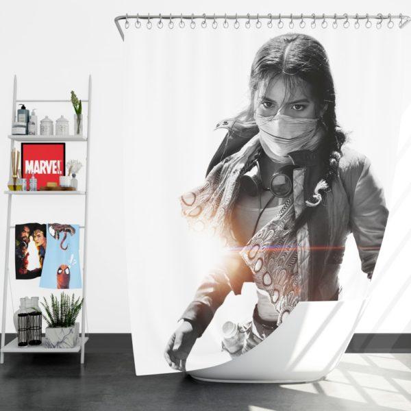 Isabela Moner Izabella Transformers the Last Knight Shower Curtain