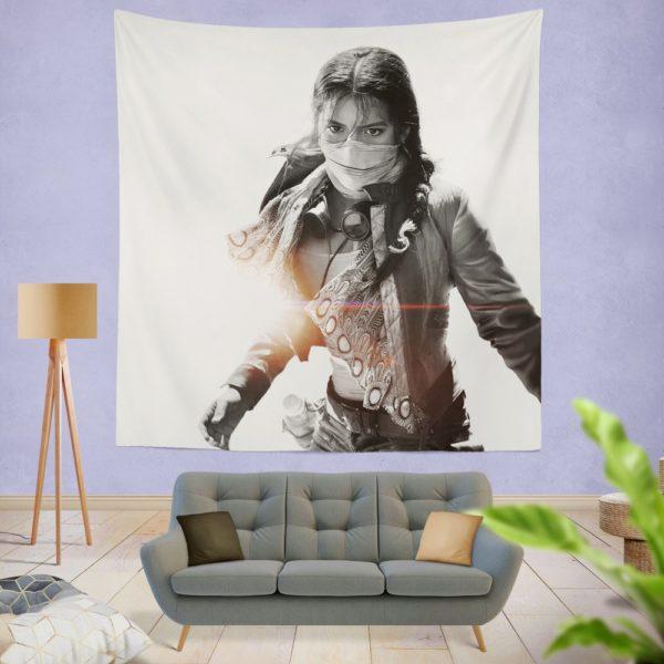 Isabela Moner Izabella Transformers the Last Knight Wall Hanging Tapestry