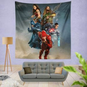 Justice League Movie Teen Bedroom Wall Hanging Tapestry