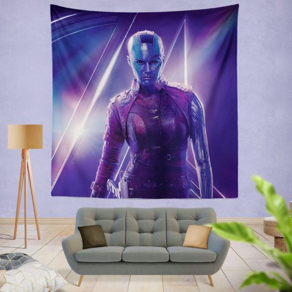 Karen Gillan Nebula Avengers Wall Hanging Tapestry