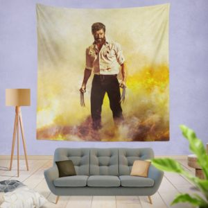 Logan Hugh Jackman Wall Hanging Tapestry
