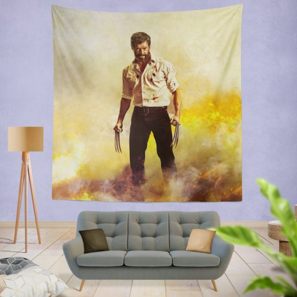 Logan Hugh Jackman Wall Hanging Tapestry