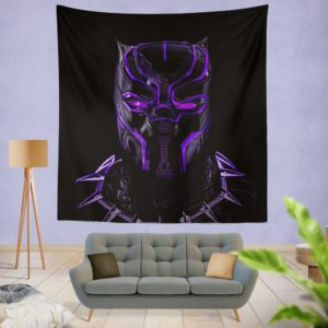 Marvel Black Panther Movie Bedroom Wall Hanging Tapestry