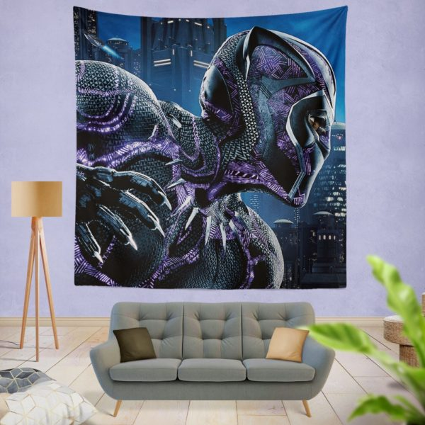 Marvel Black Panther Movie Wall Hanging Tapestry