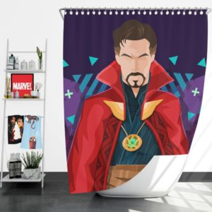 Marvel Super Hero Doctor Strange Movie Shower Curtain