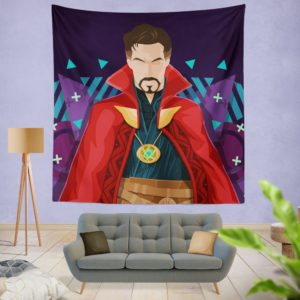 Marvel Super Hero Doctor Strange Movie Wall Hanging Tapestry
