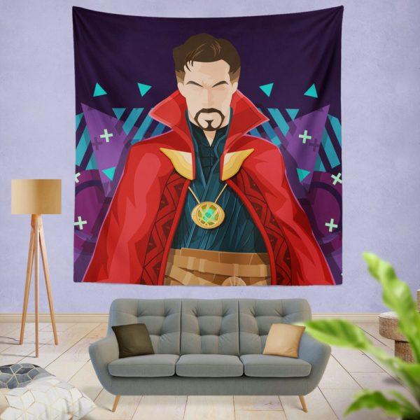 Marvel Super Hero Doctor Strange Movie Wall Hanging Tapestry