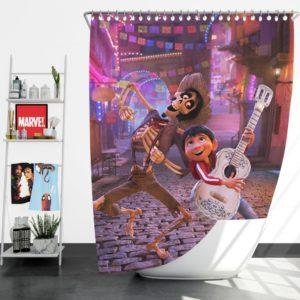Miguel Rivera Hector Coco Disney Pixar Shower Curtain