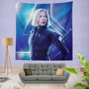 Natasha Romanoff Black Widow Marvel Avenger Wall Hanging Tapestry