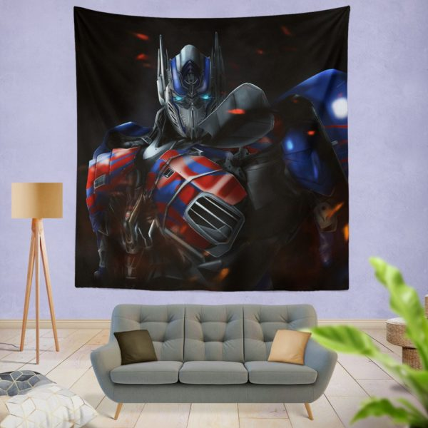 Optimus Prime Artwork Transformers Movie Wall Hanging Tapestry