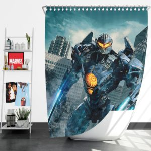 Pacific Rim Uprising Gipsy Avenger Shower Curtain
