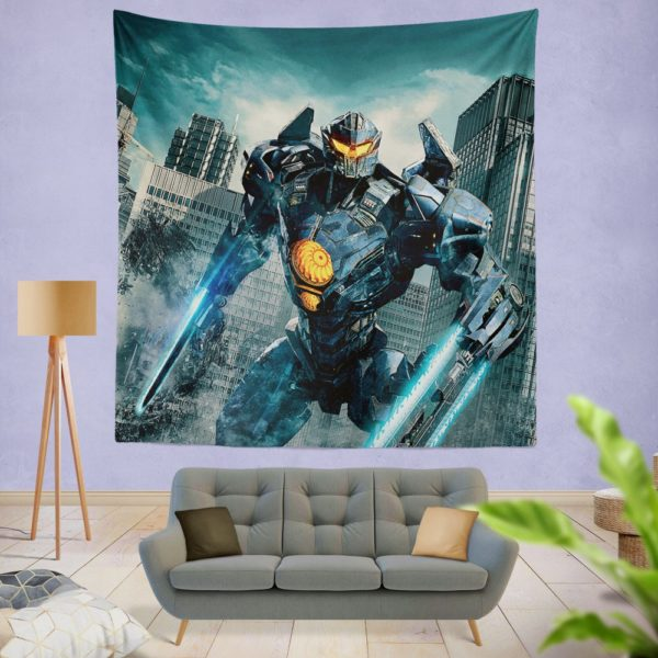 Pacific Rim Uprising Gipsy Avenger Wall Hanging Tapestry