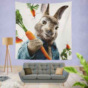 Peter Rabbit Animation Movie Wall Hanging Tapestry