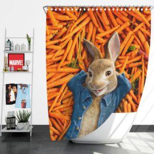 Peter Rabbit Movie Shower Curtain