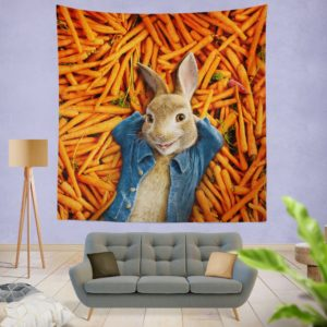 Peter Rabbit Movie Wall Hanging Tapestry