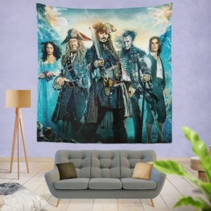 Pirates of the Caribbean Dead Men Wall Hanging Tapestry