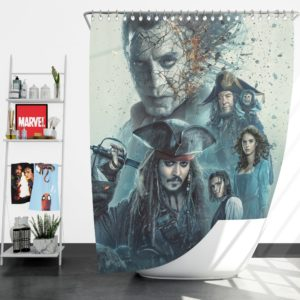 Pirates of the Caribbean Salazar Revenge Shower Curtain
