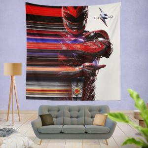 Power Rangers the Red Ranger Wall Hanging Tapestry
