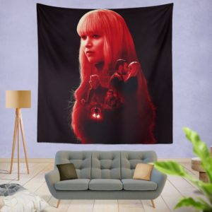 Red Sparrow Movie Wall Hanging Tapestry