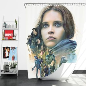 Rogue One A Star Wars Story Movie Shower Curtain