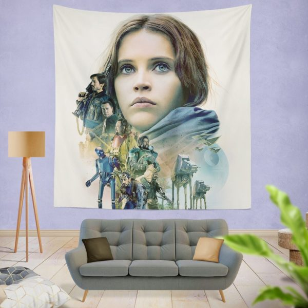 Rogue One A Star Wars Story Movie Wall Hanging Tapestry