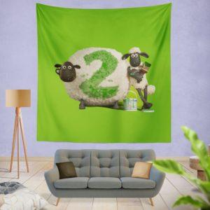 Shaun The Sheep movie Wall Hanging Tapestry