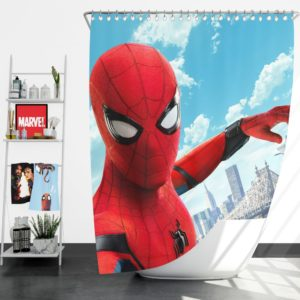 Spider Man Home Coming Shower Curtain