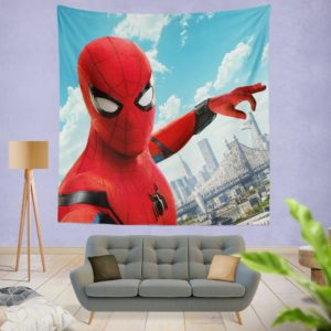 Spider Man Home Coming Wall Hanging Tapestry