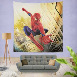 Spider Man Marvel Comics Avengers Wall Hanging Tapestry
