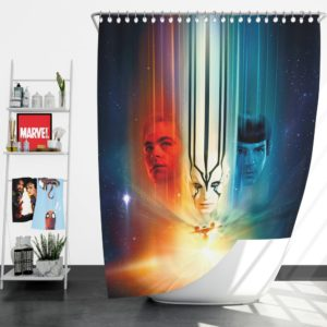Star Trek Beyond Movie Shower Curtain