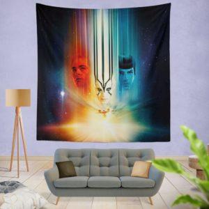 Star Trek Beyond Movie Wall Hanging Tapestry