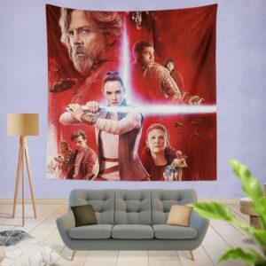 Star Wars The Last Jedi Wall Hanging Tapestry