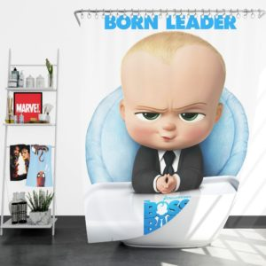 The Boss Baby Animation Movies Shower Curtain