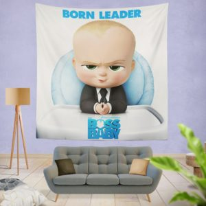 The Boss Baby Animation Movies Wall Hanging Tapestry